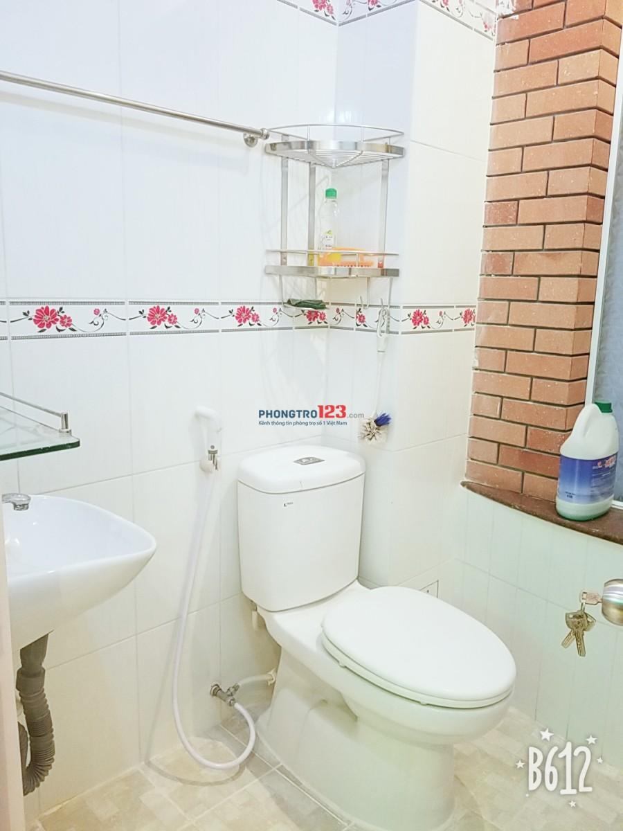 Phòng trọ full hết nội thất cho thuê giá rẻ đường Nguyễn Thái Sơn, quận Gò vấp giá chỉ 4.5tr/th