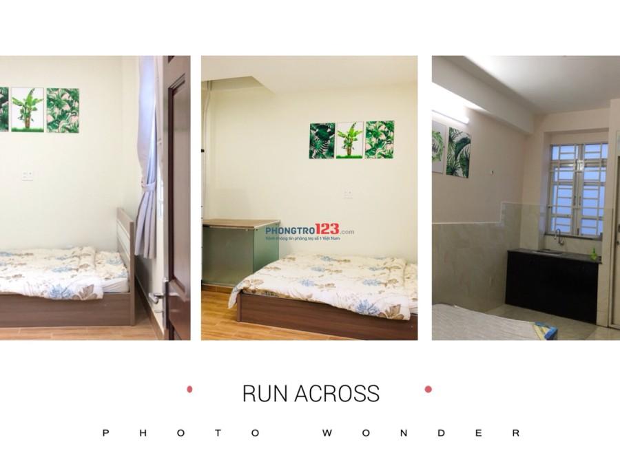 Cho thuê căn hộ mini đầy đủ tiện nghi diện tích 28m2 đường Phan Tây Hồ, p7, Phú Nhuận giá chỉ 6,7tr/tháng