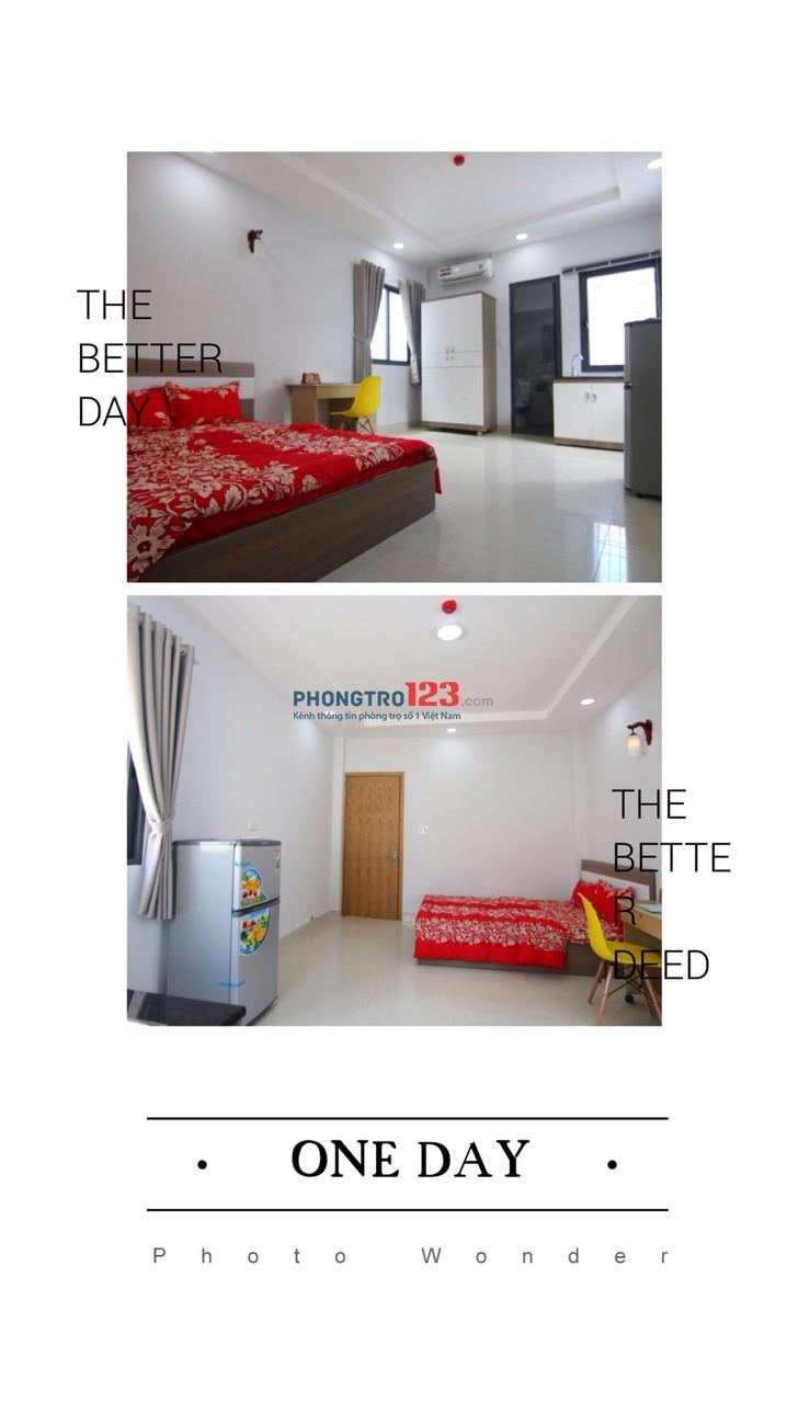 Cho thuê căn hộ mini đầy đủ tiện nghi đường Nguyễn Trọng Tuyển, Tân Bình S 25m2 giá chỉ 6.8tr/tháng