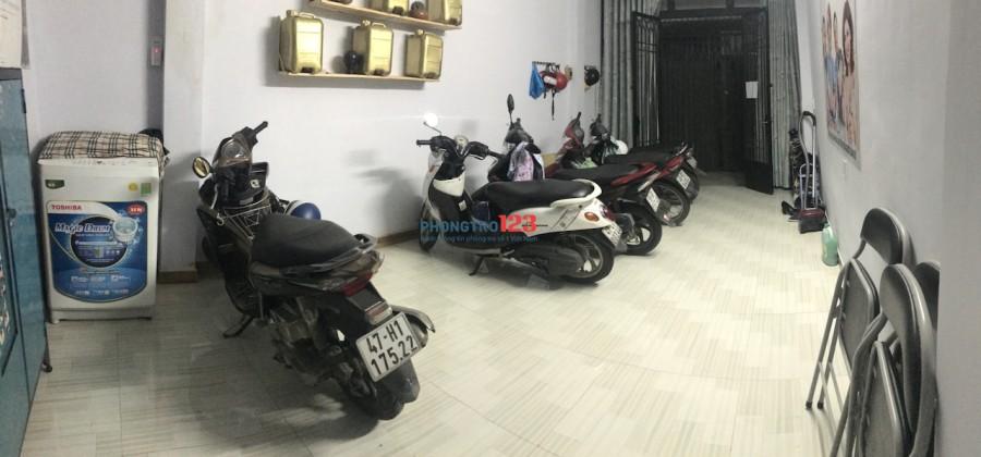 Cho thuê phòng mới giờ tự do gần ĐH Nguyễn Tất Thành, Quận 4. 3tr/th ở 3-4 người, LH 0903.12.08.21