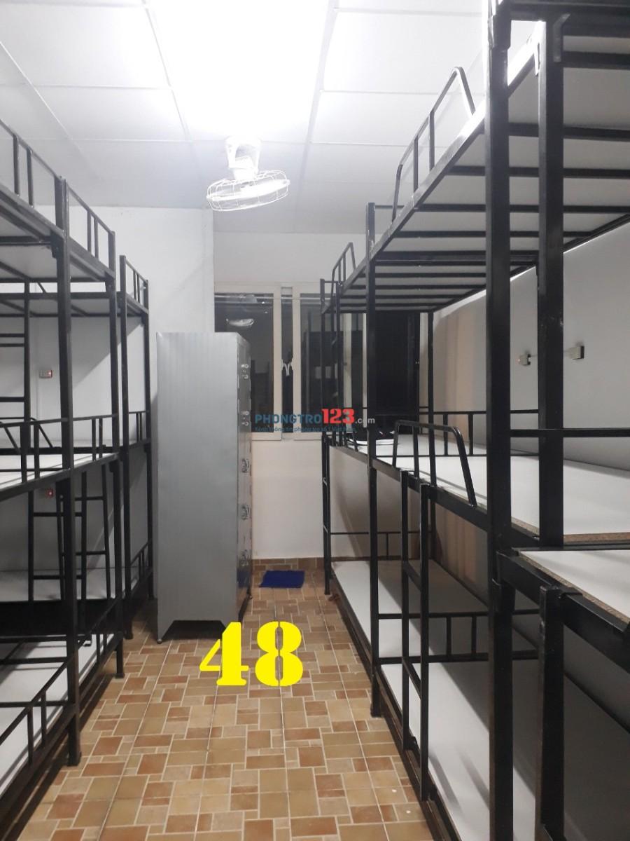 Kí túc xá cho thuê 450k/tháng máy lạnh mới xây tại 7F Bạch Đằng, Tân Bình