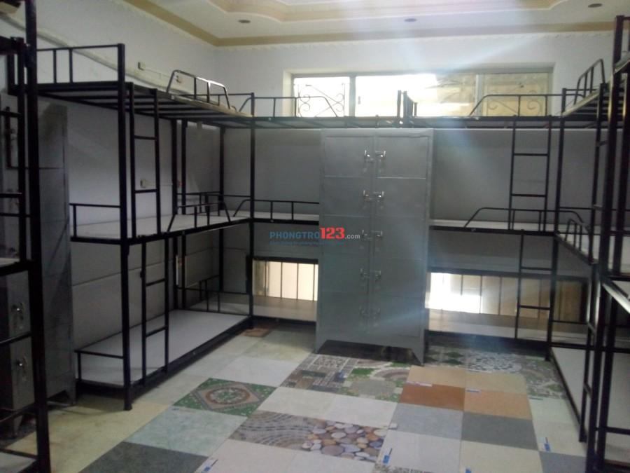 Kí túc xá 450k/tháng, máy lạnh mới xây Quận 10
