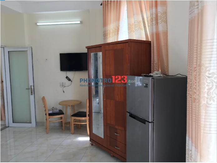 Cho thuê phòng cao cấp full nội thất gần BigC Trường Chinh, quận Tân Bình, HCM