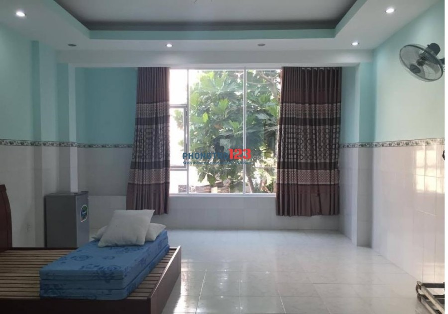 Phòng trọ cao cấp mới xây full nội thất, có bếp, ban công, đường Khánh Hội, Quận 4