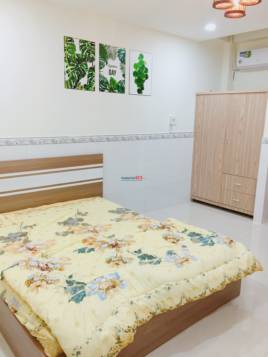 Cho thuê căn hộ mini đầy đủ nội thất S=30m2 đường Phùng Văn Cung, Phú Nhuận giá chỉ 7tr/tháng