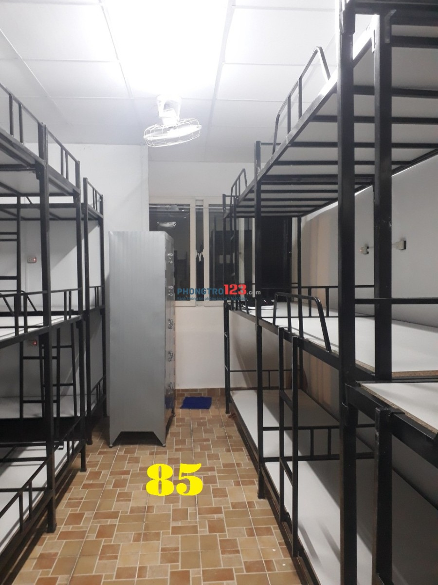 Kí túc xá cho thuê 450k/tháng máy lạnh quận Tân Bình