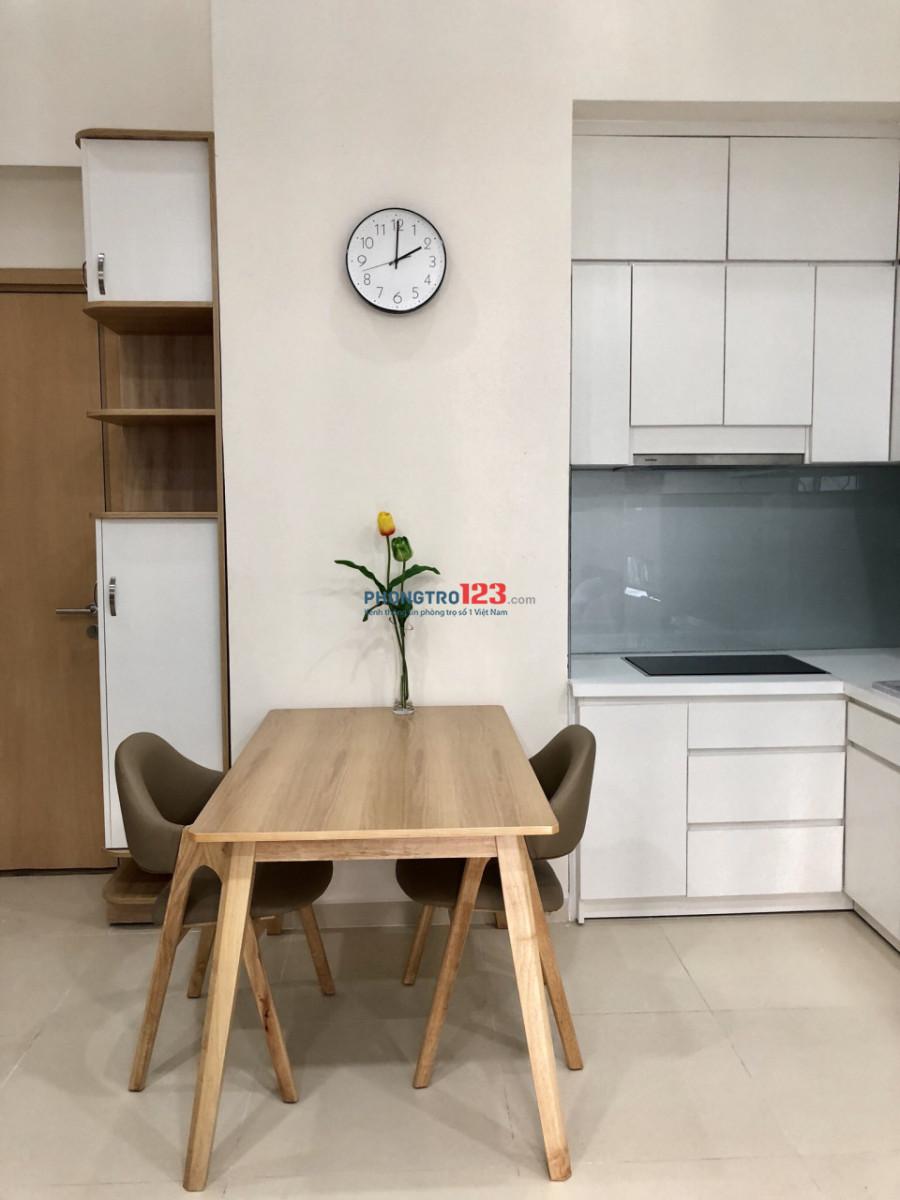Cho thuê căn officetel ỏ M-one có 2 phòng ngủ, view thoáng mát, có đầy đủ nội thất với giá thuê 13tr/tháng. LH: 0773901588