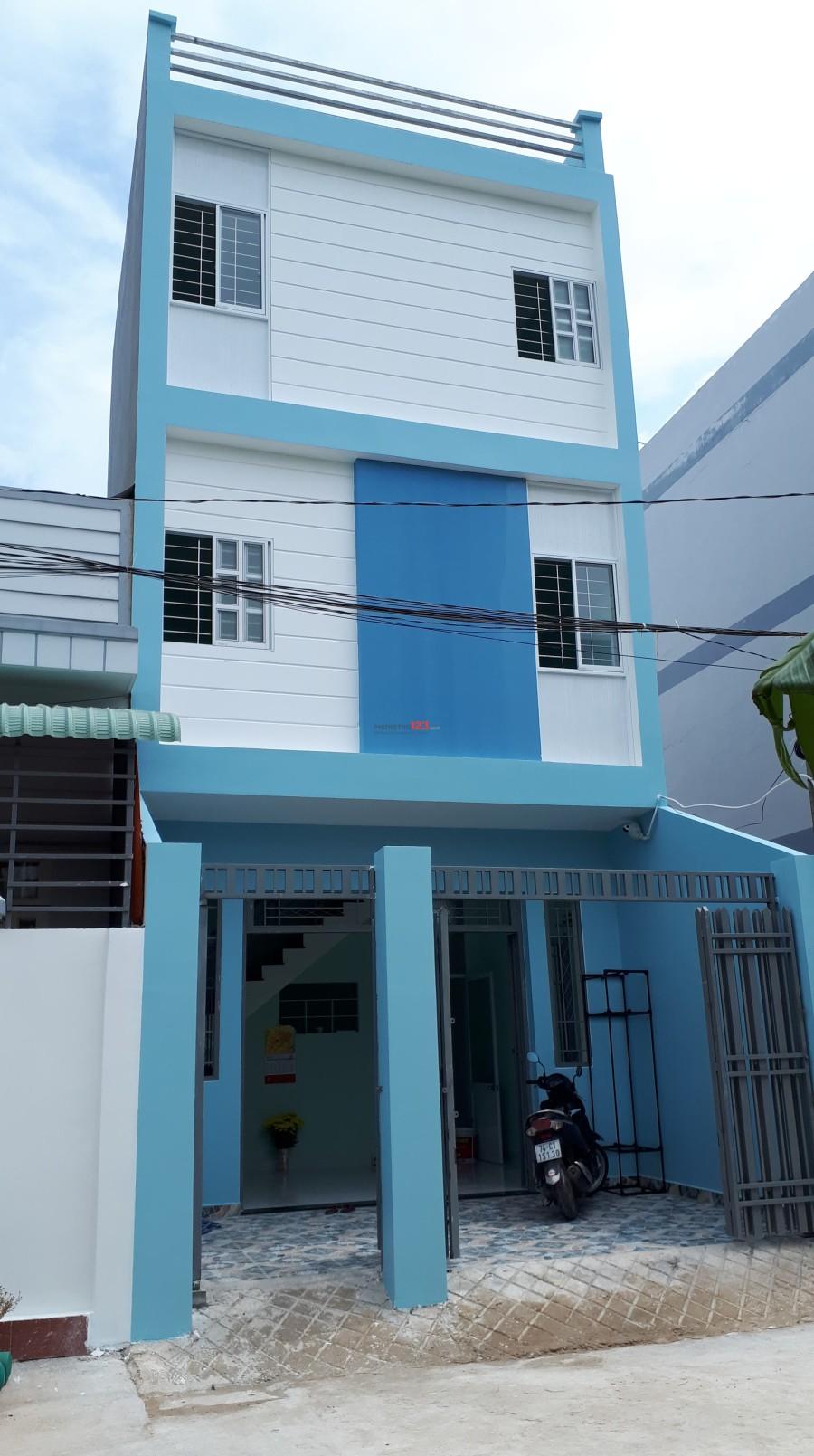 Cho thuê phòng trọ trong nhà mới xây tại mầm non Đồng Xanh, Nguyễn Văn Tạo