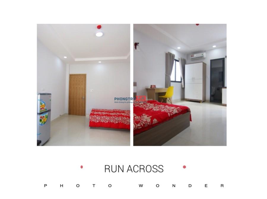 Cho thuê căn hộ mini đầy đủ nội thất tại Ung văn Khiêm, Bình Thạnh với tổng diện tích 25m2 giá chỉ 6tr/tháng