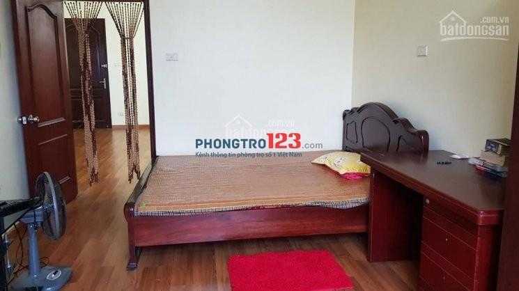 Cho thuê căn hộ 18T1 Lê Văn Lương- Trung Hòa, Nhân Chính