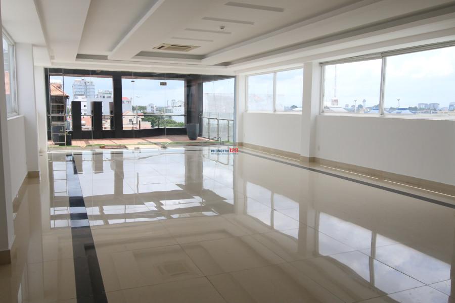 Cho thuê mặt bằng, VPKD đầy đủ nội thất S=90m2, Hoàng Hoa Thám, Tân Bình giá chỉ 25tr/tháng