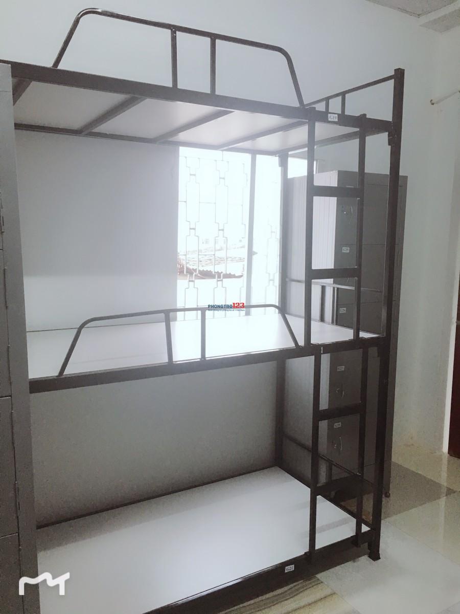 Cho thuê KTX máy lạnh quận Bình Thạnh 450k/1 tháng