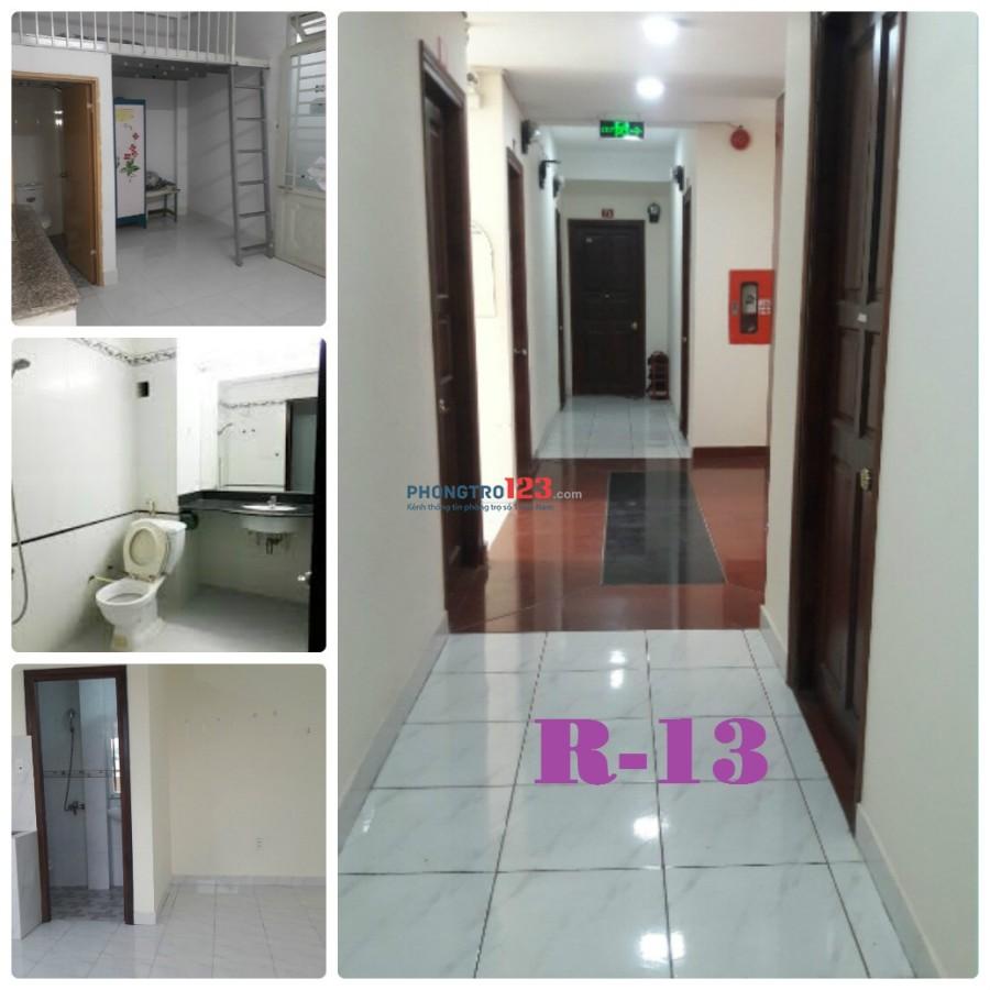 Phòng cho thuê máy lạnh đầy đủ nội thất tại Thành Mỹ, Tân Bình