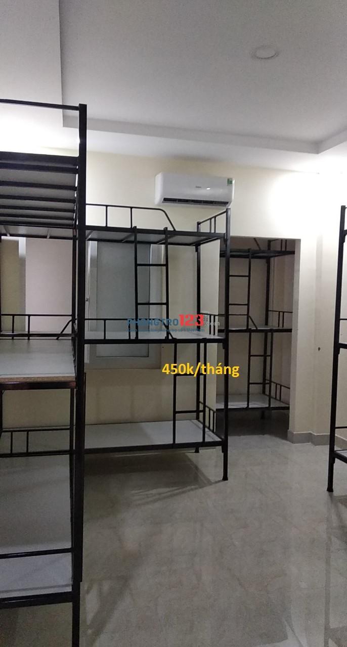 Cho thuê KTX giá rẻ đường Điện Biên Phủ, Bình Thạnh 450k/tháng