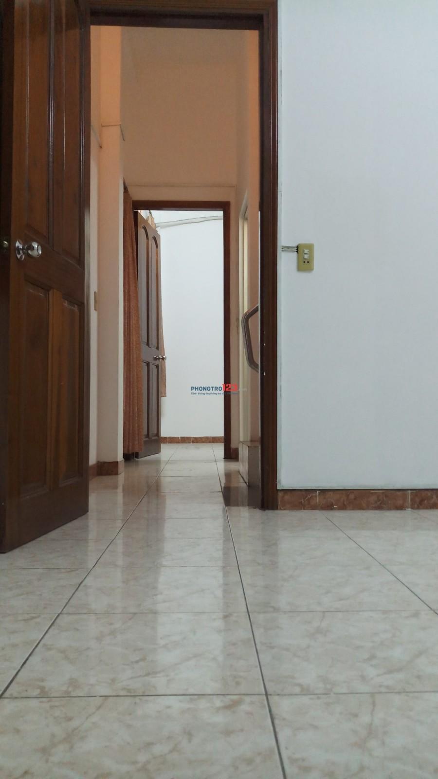 Cho thuê nhà căn góc HXT 16/77 Nguyễn Thiện Thuật Q.3 - 3.6x11m 3lầu 150m - chốt 25tr