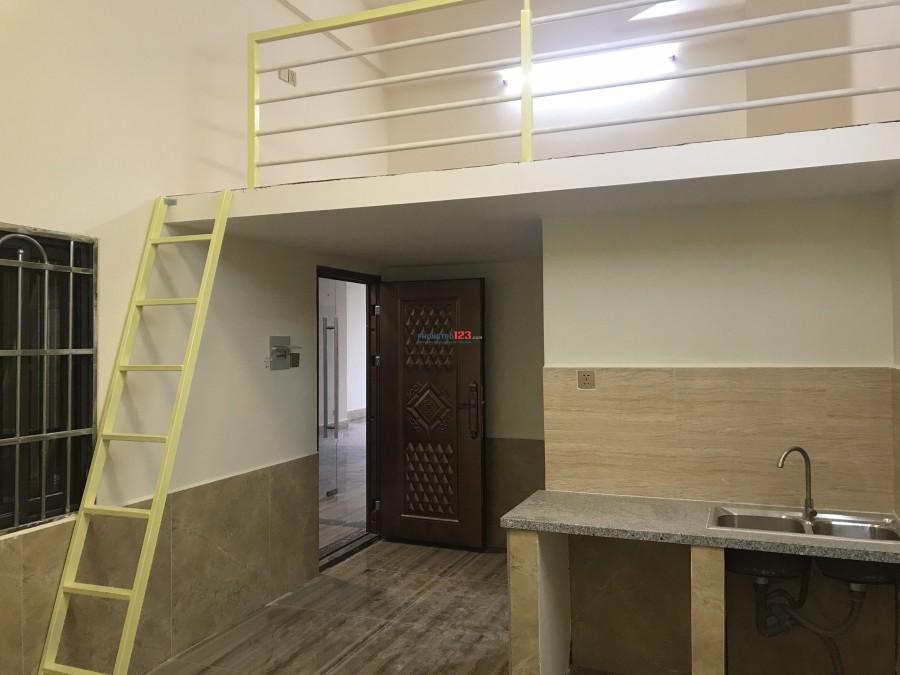 HOT. Tặng ngay 500k cho khách thuê  chung cư mini cao cấp có máy lạnh gần ngay ngã tư Thủ Đức  giờ tự do, bảo vệ 24/24