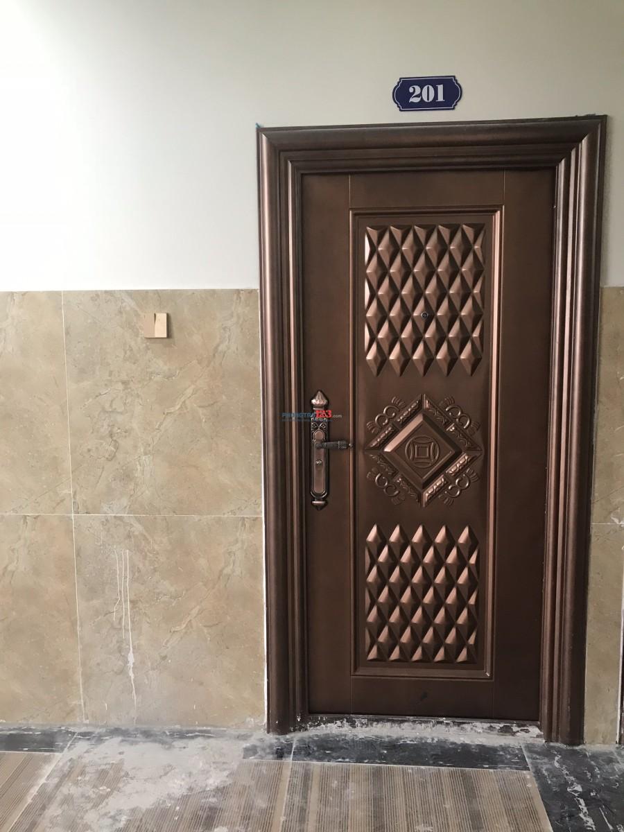 HOT. Cho  thuê  chung cư mini cao cấp có máy lạnh gần ngay ngã tư Thủ Đức  giờ tự do, bảo vệ 24/24