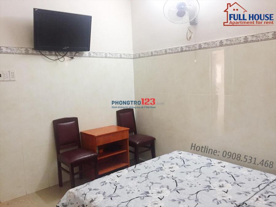 Phòng trọ đầy đủ nội thất ngay cầu Nguyễn Văn Cừ Q5