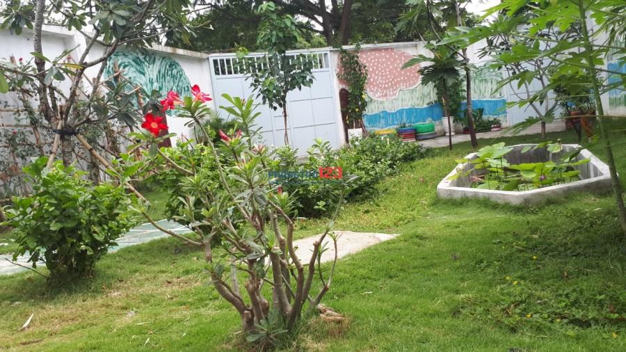 Cho thuê nhà nguyên căn - nhà sân vườn, lô góc 2 mặt tiền