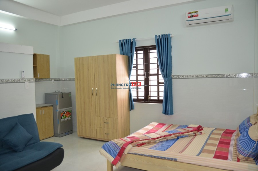 Phòng cao cấp full nội thất dt 30m2 đường Hoàng Văn Thụ ngay sân bay giá 6tr/1tháng