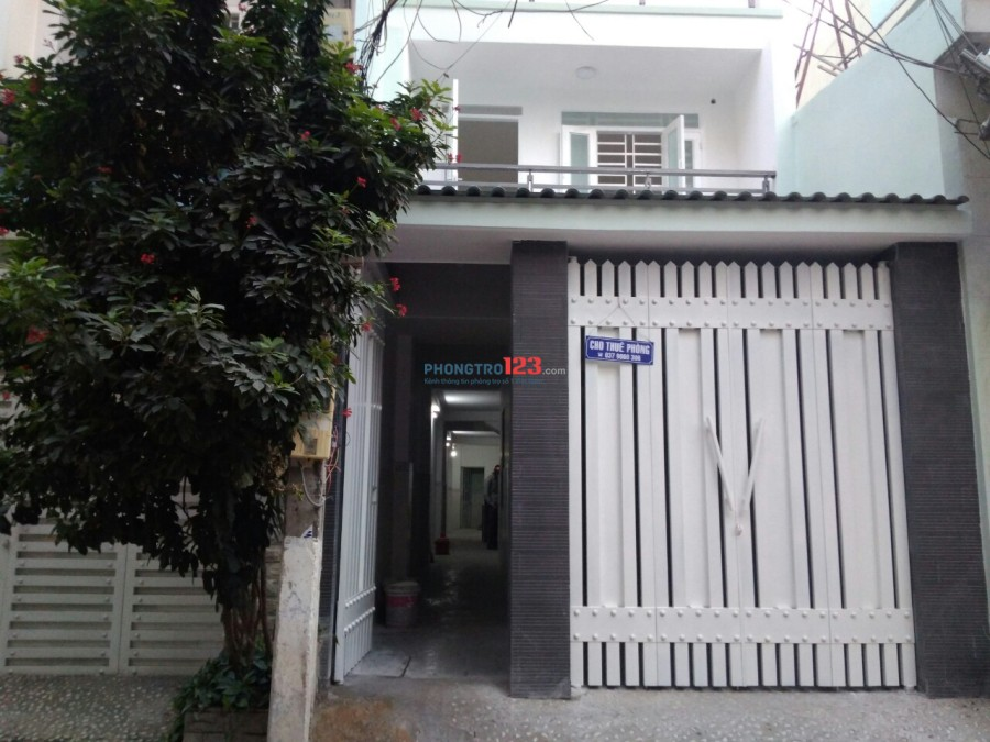 Phòng trọ mới xây, khu Hoàng Hoa Thám, quận Tân Bình