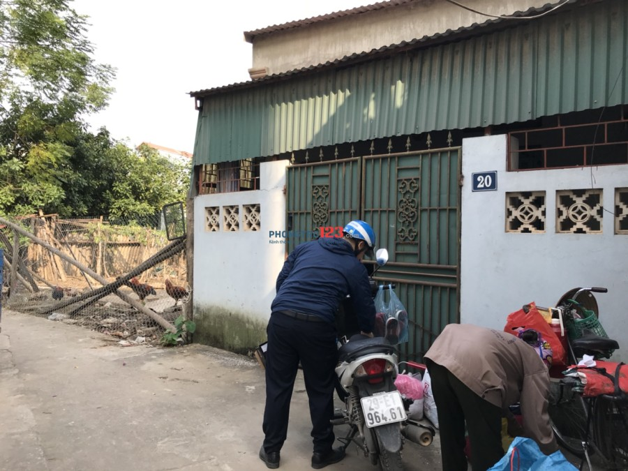 Cho thuê nhà riêng, đủ đồ, chính chủ tại số nhà 20 ngõ 1022 Quang Trung, Hà Đông (bến xe Yên nghĩa)