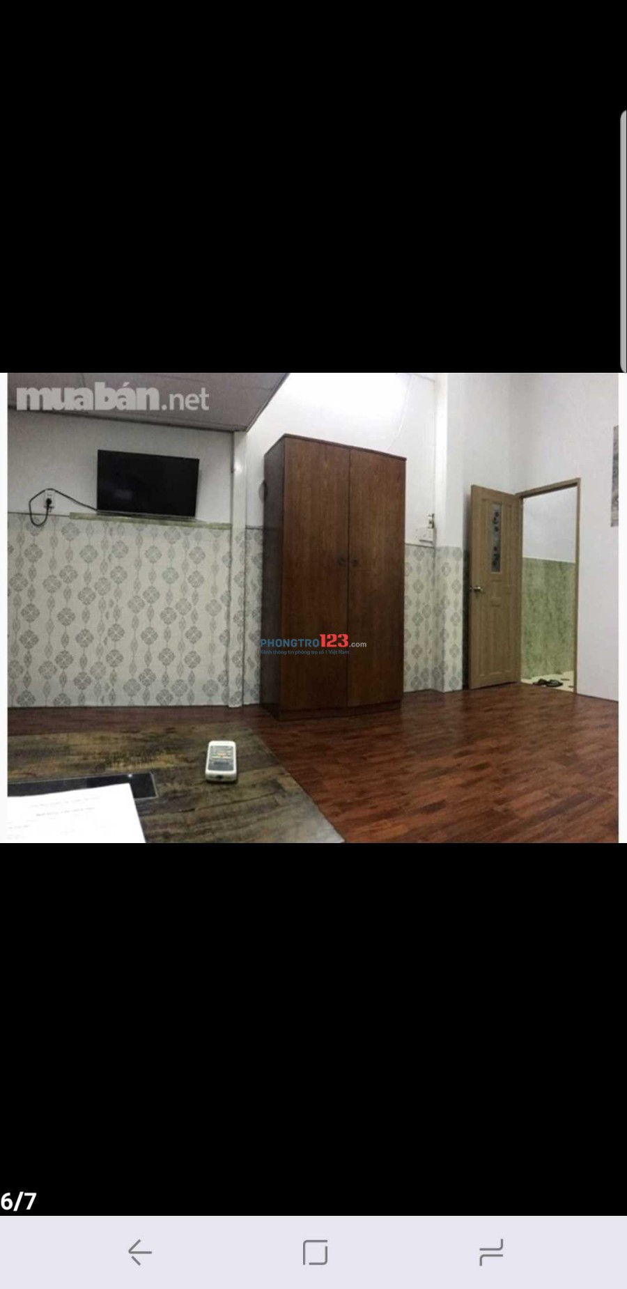 Phòng đầy full nội thất có gác 35m2 ,trung tâm quận 1chợ tân định