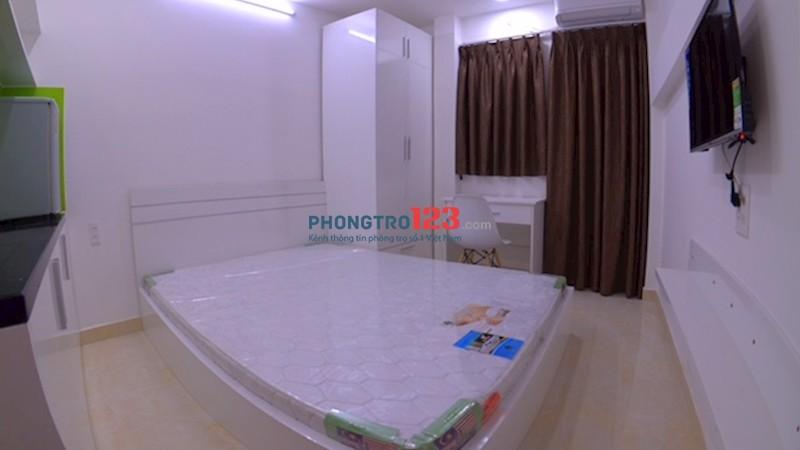Căn hộ studio 30m2 đủ tiện nghi mới xây đường Nguyễn Văn Trỗi