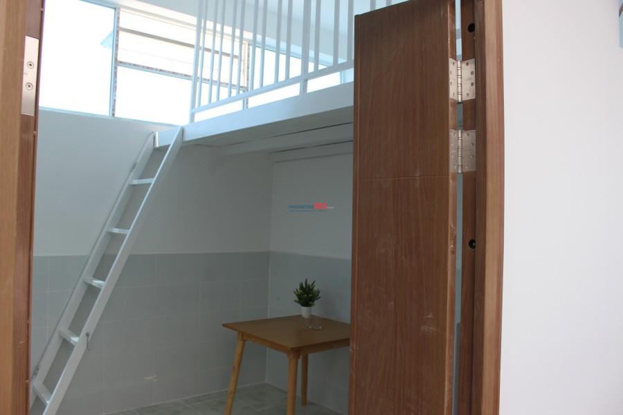căn hộ chung cư mini có gác, thang máy, giờ giấc tự do quận tân bình (KCN tân bình)