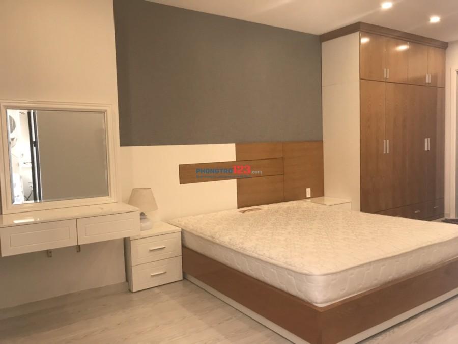 Cho thuê căn 2PN 2WC 75m2 Garden Gate - Novaland. Giá thuê 19 tr/th đầy đủ nội thất