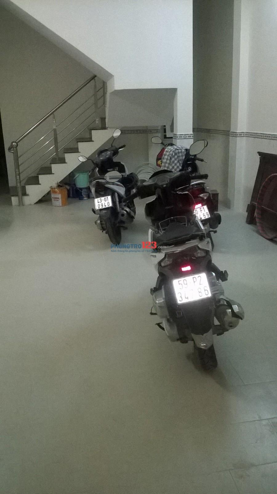 Phòng trọ mới xây, tiện nghi gần Nguyễn Duy Trinh