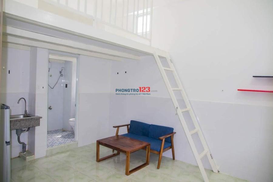Chung cư căn hộ cho thuê phòng gác xếp sạch sẽ, an ninh tại đường Tây Thạnh quận Tân Phú