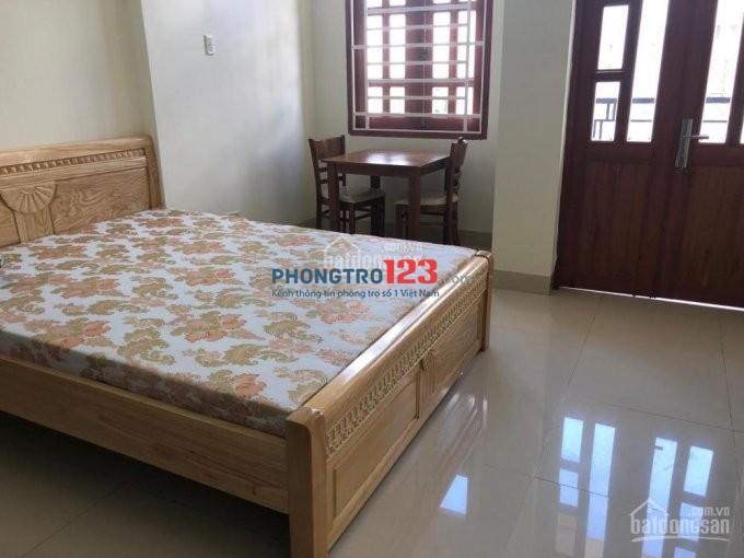 Phòng mới đẹp nội thất cơ bản,ban công Chu Văn An, Bình Thạnh, giá 3.8tr