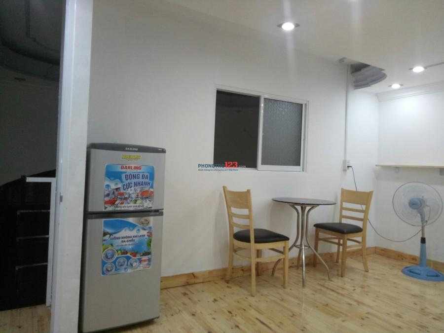 Cho thuê căn hộ mini nhỏ, đầy đủ tiện nghi
