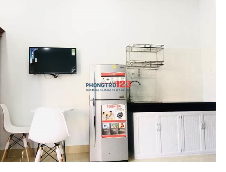 Thuê căn hộ mini chỉ 6.5tr/th full nội thất, bao cáp, net gần sân bay