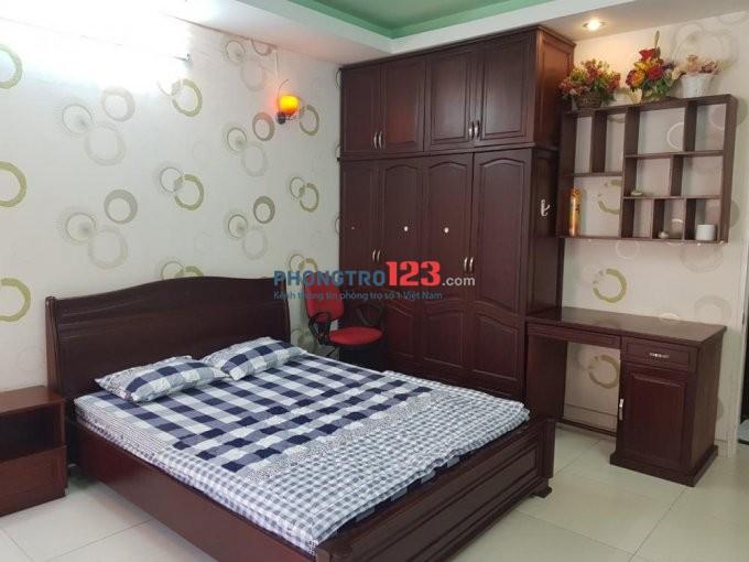 Căn hộ 35m2 full tiện nghi, ban công Huỳnh Văn Bánh, Phú Nhuận, giá 5tr