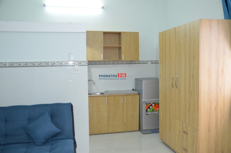 Cho thuê phòng full nội thất dt từ 60m2, đường Út Tịch, p4, Tân Bình
