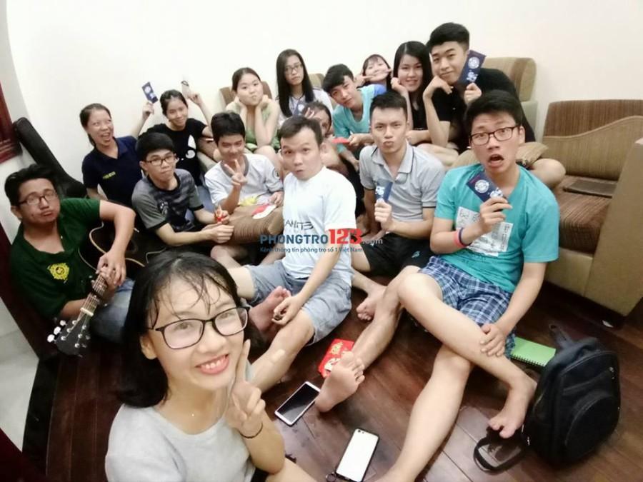 Nhà chúng mình 01 tuyển thành viên gần đại học Hutech