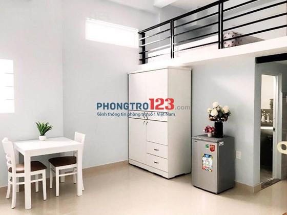 Phòng 30m2 có gác cao tiện nghi đường Lâm Văn Bền