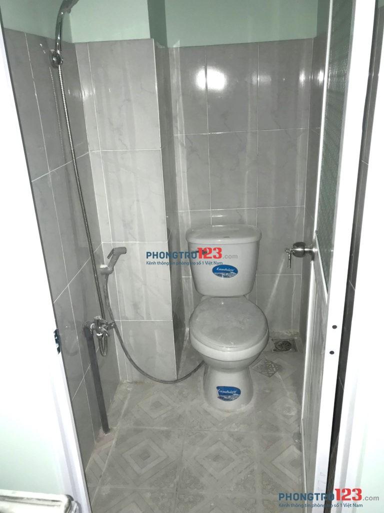 Cho thuê phòng trọ mới Phan Đăng Lưu, Bình Thạnh