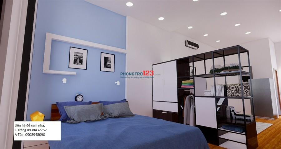 Cho thuê căn hộ mini mới xây full nội thất, 35m2 có thang máy cạnh chung cư Bộ Công An, Quận 2