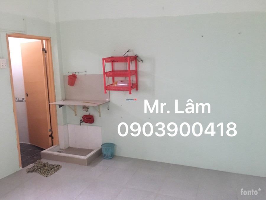 Phòng trọ sinh viên Q.Tân Phú 2,2 triệu không chung chủ, liên hệ Mr. Lâm 0903900418