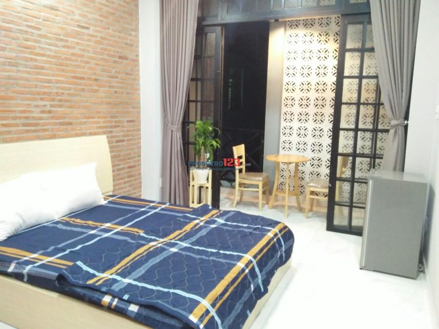 Cho thuê phòng full nội thất ngay Nguyễn Du , F7, Q.Gò Vấp, gần chợ, đủ tiện nghi