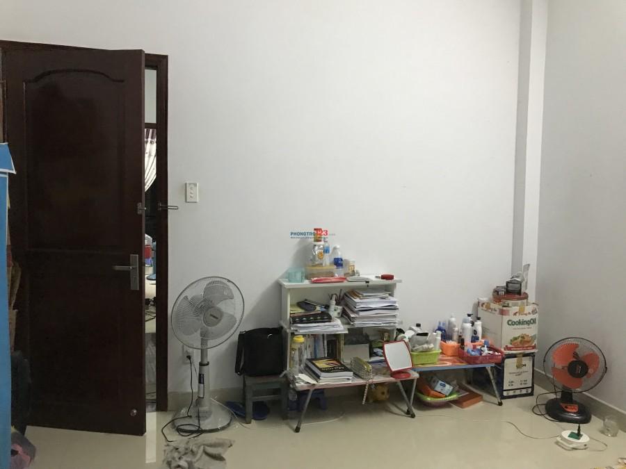 Cần 1 nữ ở ghép - Phòng 18m2 - Quận Bình Thạnh
