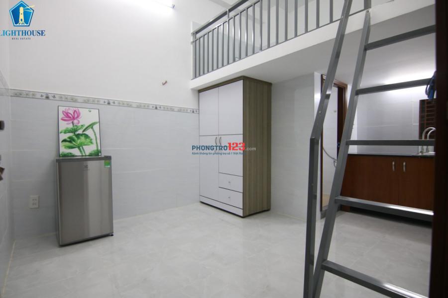 Phòng dịch vụ 30m2 full nội thất (nhà có Thang máy)
