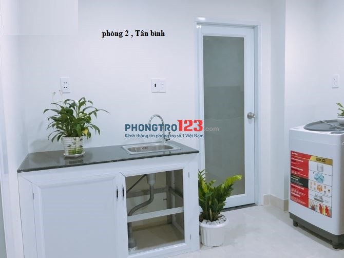 Phòng trọ Thành Mỹ số 2 giá rẻ quận Tân Bình
