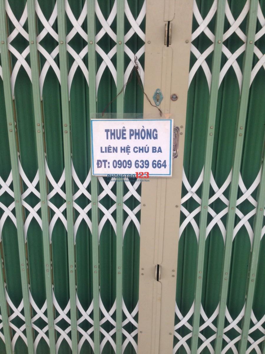 Cho thuê phòng trọ mới xây tại khu công nghiệp Hải Sơn và Tân Đức