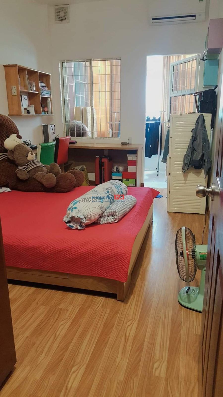 Cho nữ thuê phòng ở ghép, phòng ful nội thất, Q.3, sdt: 0932265884