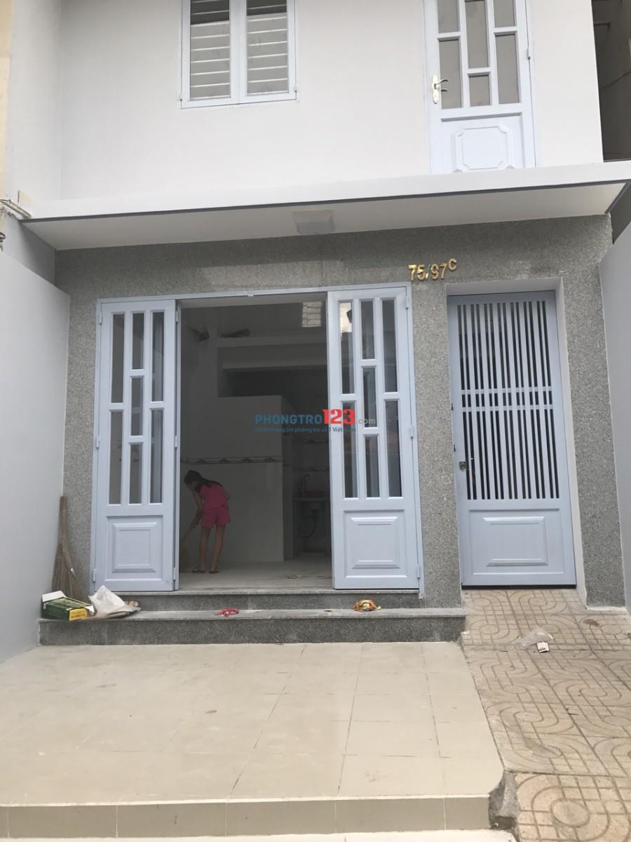 Cho thuê phòng hẻm 75 Lý Thánh Tông, HCM