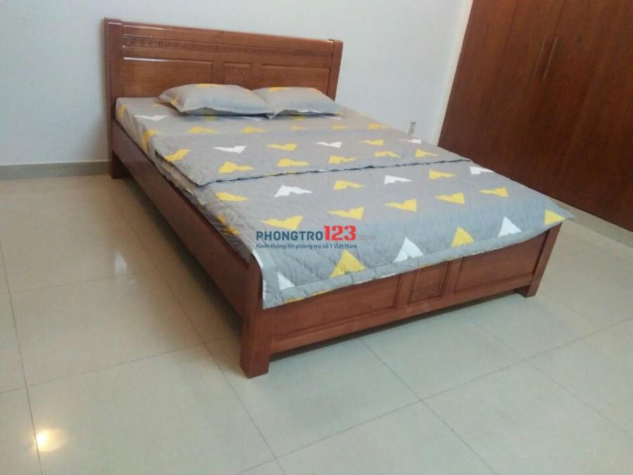 Cho thuê phòng full nội thất ngay Phan Văn Trị, gần siêu thị Emart